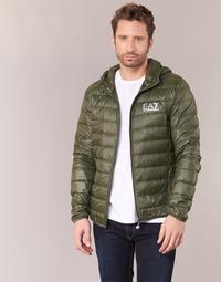 Oblečenie Muži Vyteplené bundy Emporio Armani EA7 TRAIN CORE ID DOWN LIGHT HD Kaki