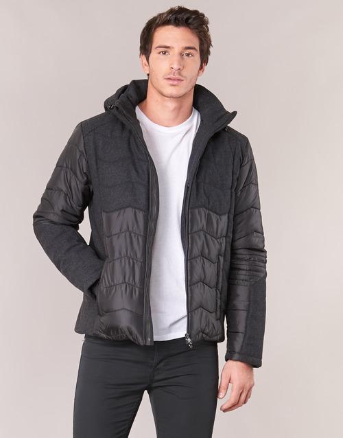 Oblečenie Muži Vyteplené bundy Emporio Armani EA7 MOUNTAIN M TECH JACKET Čierna