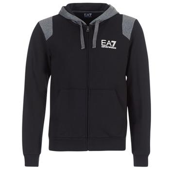 Oblečenie Muži Mikiny Emporio Armani EA7 TRAIN TRITONAL M HOODIE FZ čierna