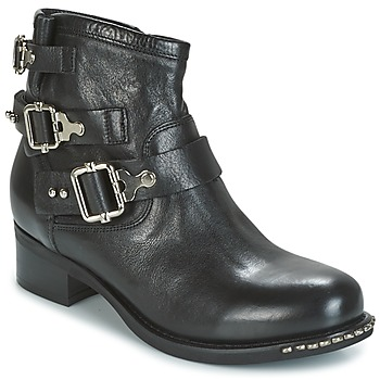Topánky Ženy Polokozačky Mimmu DIMA Čierna