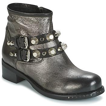 Topánky Ženy Polokozačky Mimmu BERLO Strieborná