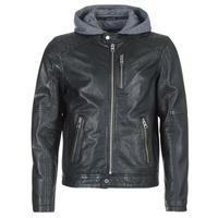 Oblečenie Muži Kožené bundy a syntetické bundy Oakwood 62579 Čierna