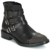 Topánky Ženy Polokozačky Meline PESCINO čierna