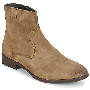 Topánky Muži Polokozačky Frank Wright EDISON Béžová