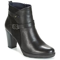 Topánky Ženy Čižmičky Dorking REINA čierna