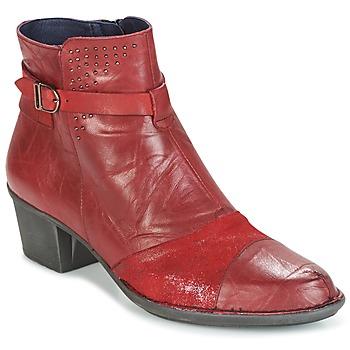 Topánky Ženy Čižmičky Dorking DALMA červená
