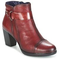 Topánky Ženy Čižmičky Dorking EVELYNE červená