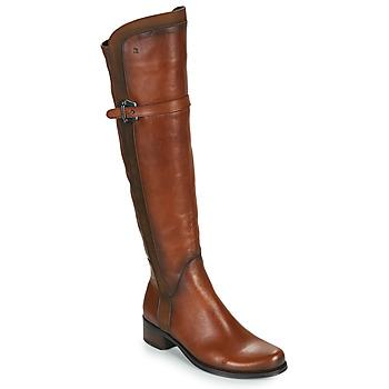 Topánky Ženy Čižmy do mesta Dorking DULCE Ťavia hnedá