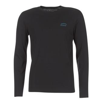 Oblečenie Muži Tričká s dlhým rukávom Oxbow TEITH Čierna