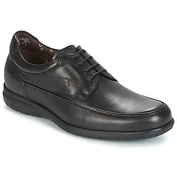 Topánky Muži Derbie Fluchos LUCA Čierna