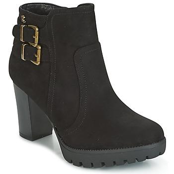Topánky Ženy Čižmičky Refresh CALI čierna