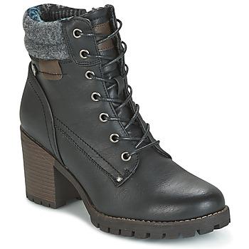 Topánky Ženy Čižmičky Refresh MARVILLE čierna