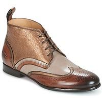 Topánky Ženy Polokozačky Melvin & Hamilton SALLY 16 Zlatá