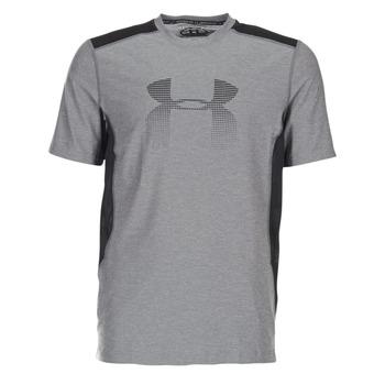 Oblečenie Muži Tričká s krátkym rukávom Under Armour UA RAID GRAPHIC SS Šedá / Čierna