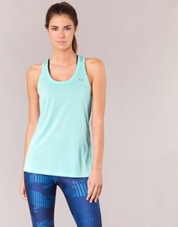 Oblečenie Ženy Tielka a tričká bez rukávov Under Armour TECH TANK - SOLID Zelená