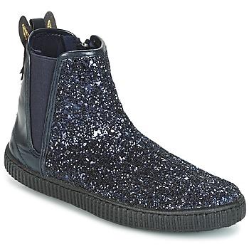 Topánky Dievčatá Polokozačky Chipie JARIOGLIT Námornícka modrá