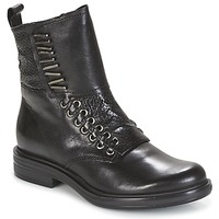 Topánky Ženy Polokozačky Mjus CAFE čierna