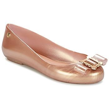 Topánky Ženy Balerínky a babies Melissa VW SPACE LOVE 18 ROSE GOLD BUCKLE Ružová / Zlatá