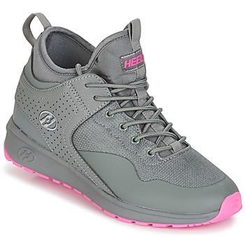 Topánky Dievčatá Kolieskové topánky Heelys PIPER šedá / Ružová