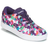 Topánky Dievčatá Kolieskové topánky Heelys LAUNCH Fialová  / Viacfarebná