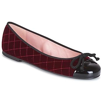 Topánky Ženy Čižmičky Pretty Ballerinas  Bordová