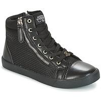 Topánky Ženy Členkové tenisky Le Temps des Cerises KIM čierna