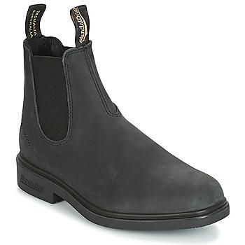 Topánky Polokozačky Blundstone DRESS BOOT šedá