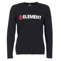 Oblečenie Muži Tričká s dlhým rukávom Element BLAZIN LS Čierna