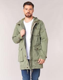 Oblečenie Muži Parky Tommy Jeans THDM WASHED PARKA 27 Kaki