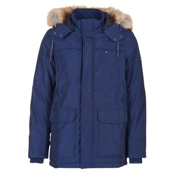 Oblečenie Muži Parky Tommy Jeans THDM TECH PARKA 27 Námornícka modrá