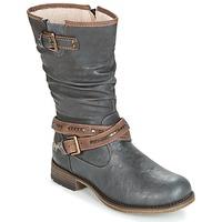 Topánky Ženy Čižmy do mesta Mustang ISALBA Šedá