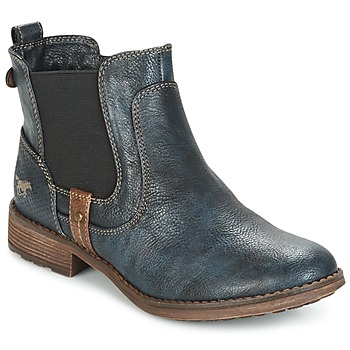 Topánky Ženy Polokozačky Mustang NANI Námornícka modrá
