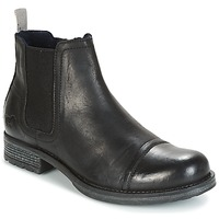 Topánky Muži Polokozačky Mustang MELI čierna