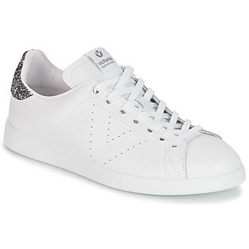 Topánky Ženy Nízke tenisky Victoria DEPORTIVO BASKET PIEL Biela / šedá
