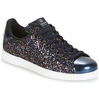 Topánky Ženy Nízke tenisky Victoria DEPORTIVO BASKET GLITTER Námornícka modrá
