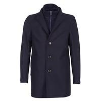 Oblečenie Muži Kabáty Tommy Hilfiger CHASE TWILL COAT Námornícka modrá