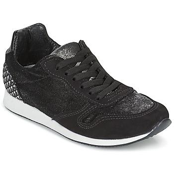 Topánky Ženy Nízke tenisky Ippon Vintage RUN VELVET Čierna