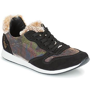 Topánky Ženy Nízke tenisky Ippon Vintage RUN SNOW Čierna / Medená