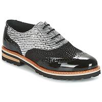 Topánky Ženy Derbie Regard RIF2 Čierna