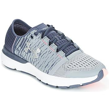 Topánky Ženy Bežecká a trailová obuv Under Armour UA W SPEEDFORM GEMINI 3 GR Strieborná