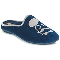 Topánky Muži Papuče Rondinaud BAYEUX Námornícka modrá