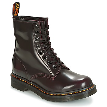 Topánky Ženy Polokozačky Dr Martens 1460 červená / červená višňová