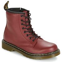 Topánky Deti Polokozačky Dr Martens DELANEY červená / červená višňová