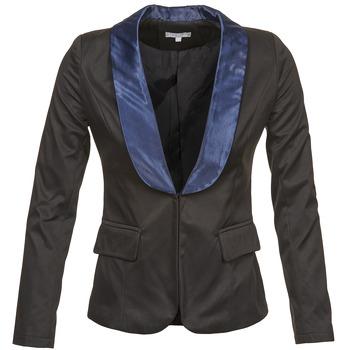 Oblečenie Ženy Saká a blejzre Betty London BERTHILLE Čierna / Námornícka modrá