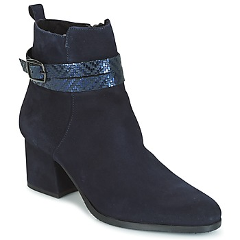 Topánky Ženy Čižmičky Tamaris BADRA Námornícka modrá