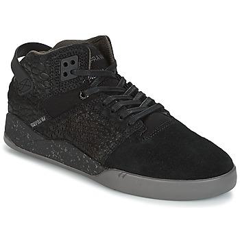 Topánky Členkové tenisky Supra SKYTOP III čierna / šedá