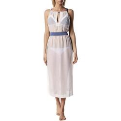 Oblečenie Ženy Dlhé šaty Diesel 00SXMT-0TANX-141 Béžová