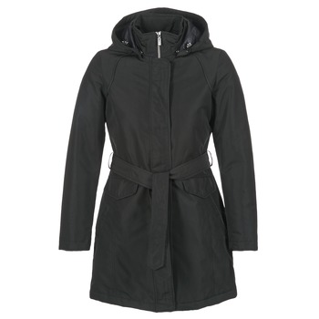 Oblečenie Ženy Parky Geox PARKI Čierna