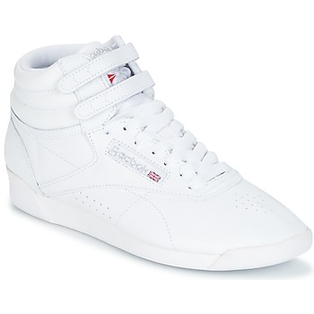 Topánky Ženy Členkové tenisky Reebok Classic F/S HI Biela / Strieborná