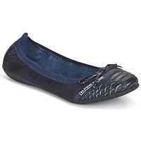 Topánky Ženy Balerínky a babies Les P'tites Bombes CAPRICE Námornícka modrá
